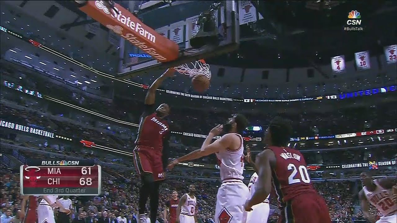 Dwyane Wade turns back the clock with a sick slam