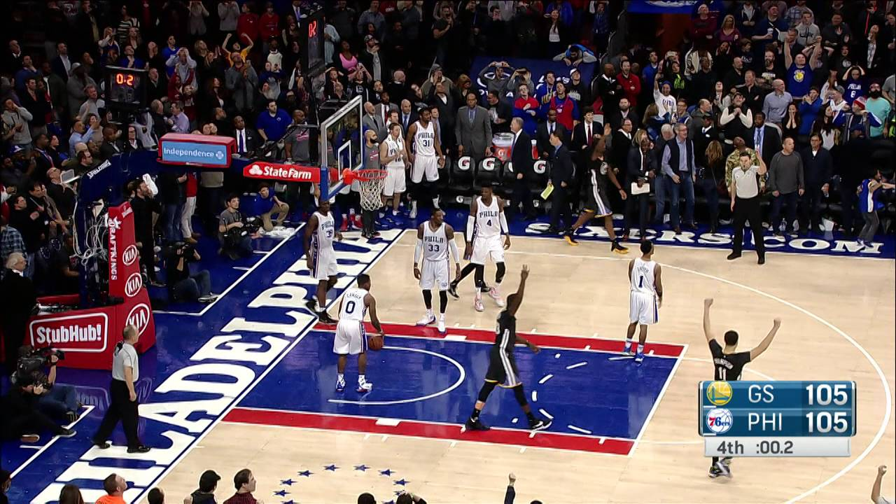 Harrison Barnes last second 3-pointer beats the 76ers