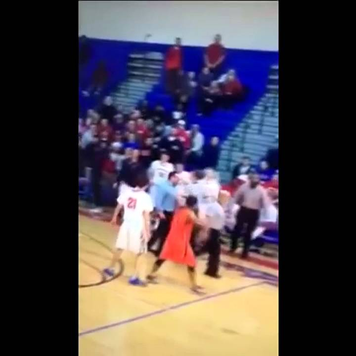 High school basketball coach at Neshaminy headbutts a referee