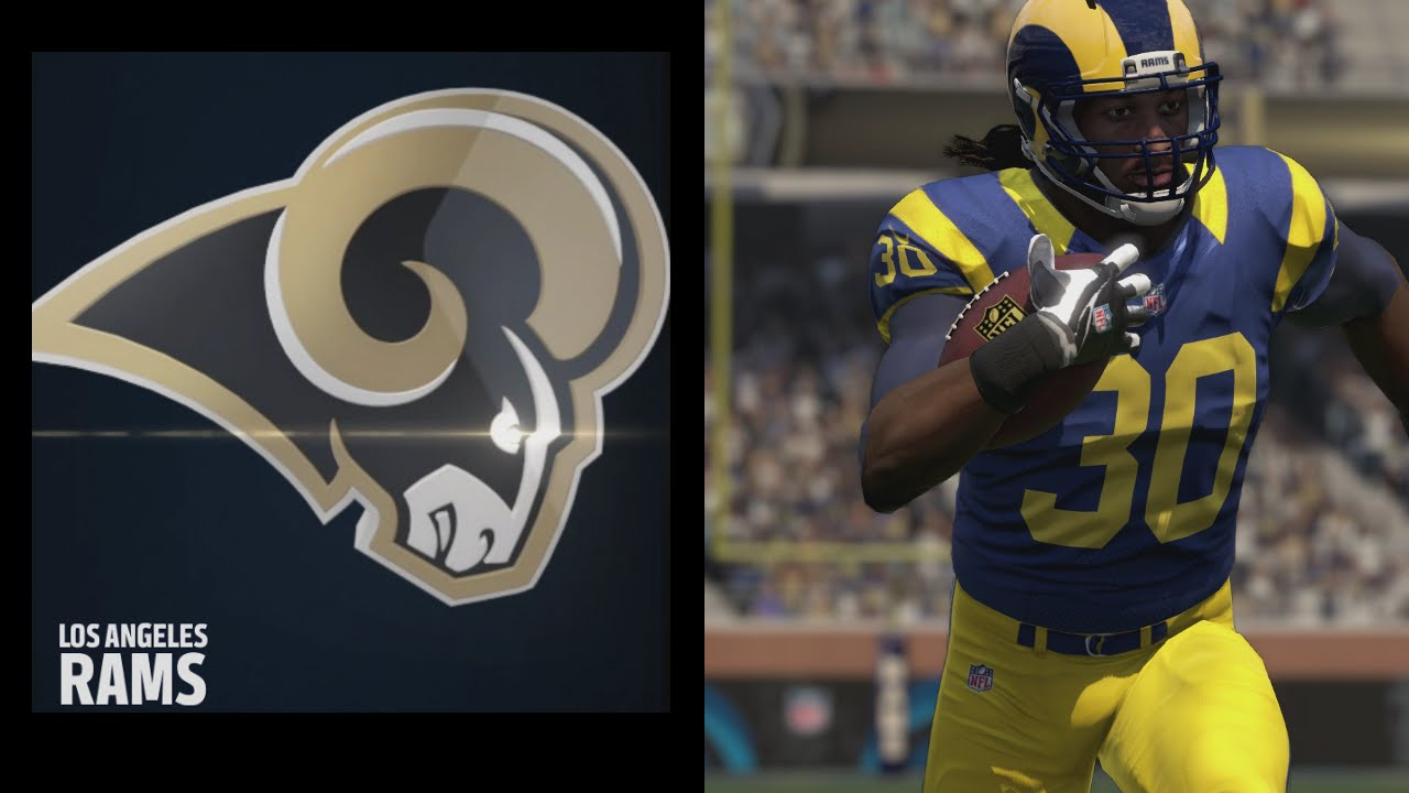 How to move the Rams to Los Angeles in Madden NFL 16