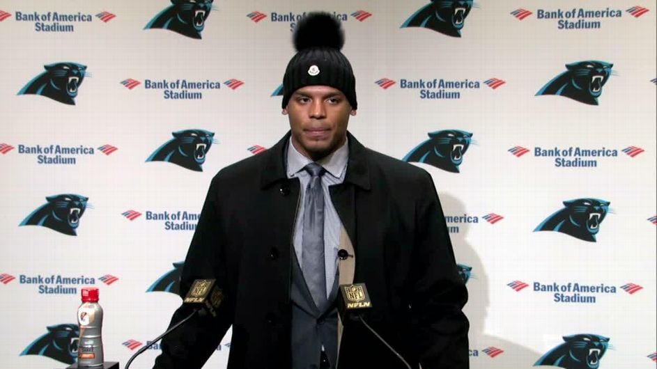 Cam Newton says the Panthers got