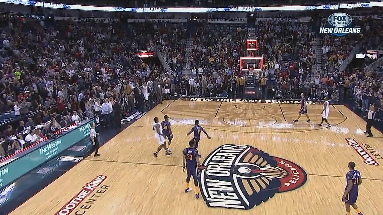 Joe Johnson nearly hit a half court game winner for Brooklyn