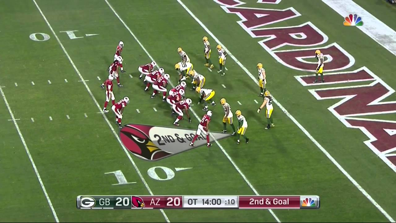 Larry Fitzgerald scores game winning touchdown in Overtime