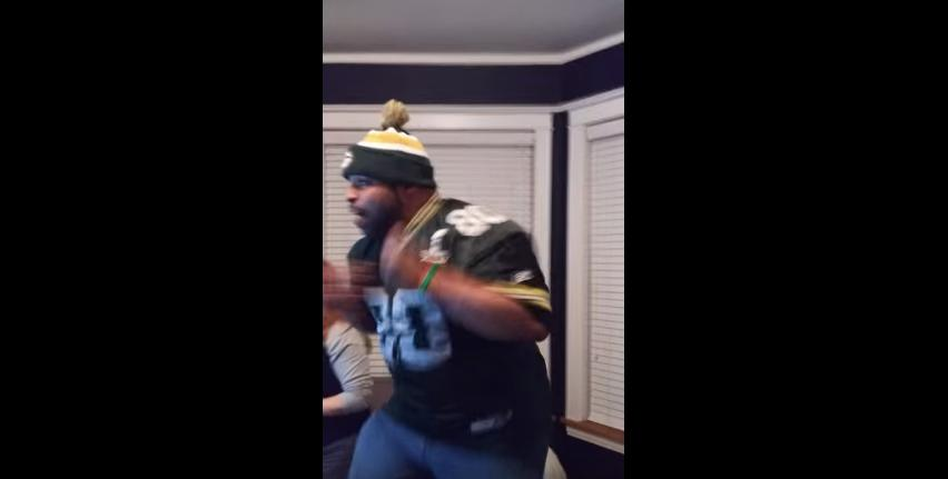 Packers fan went ballistic after Aaron Rodgers Hail Mary