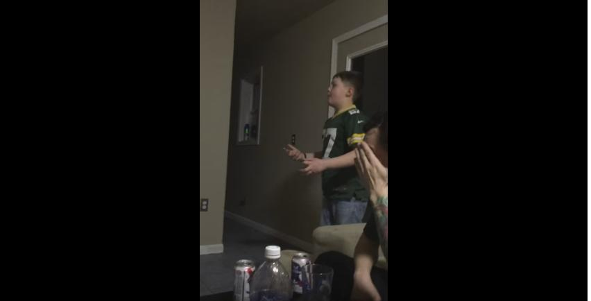 Young Packers fan rips the Packers defense in over time