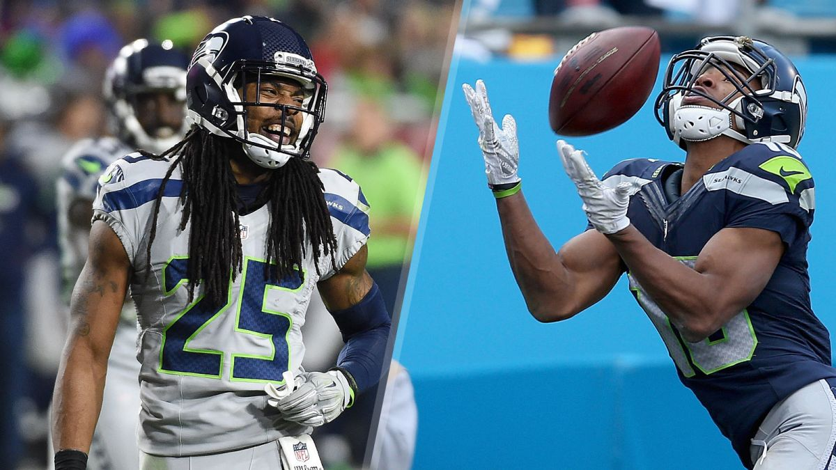 Richard Sherman gives Tyler Locket the Stone Cold
