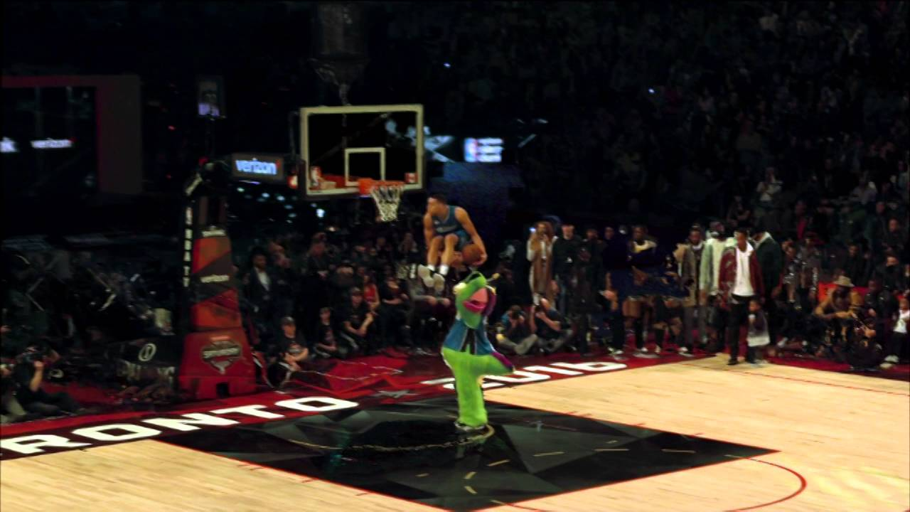 2016 NBA Dunk Contest in 'Free D' camera