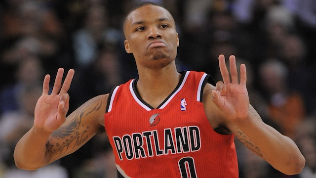 Damian Lillard drops a new rap song about his All-Star snub