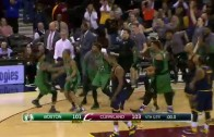 Avery Bradley hits the game winner in Cleveland for the Celtics