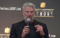 Brett Favre talks being inducted to the Pro Football Hall of Fame