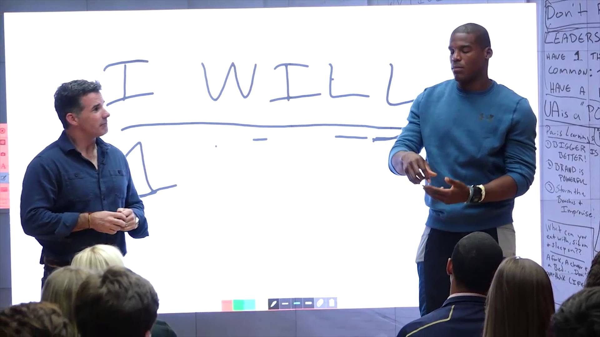 Cam Newton guaranteed Super Bowl appearances to Under Armour