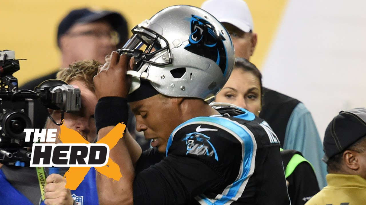 Colin Cowherd says Cam Newton proved he's not a great leader