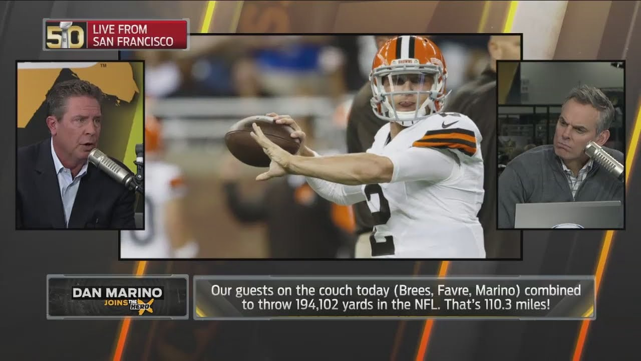Dan Marino would consider giving Johnny Manziel a second chance