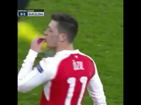Dani Alves caught swearing at Mesut Ozil