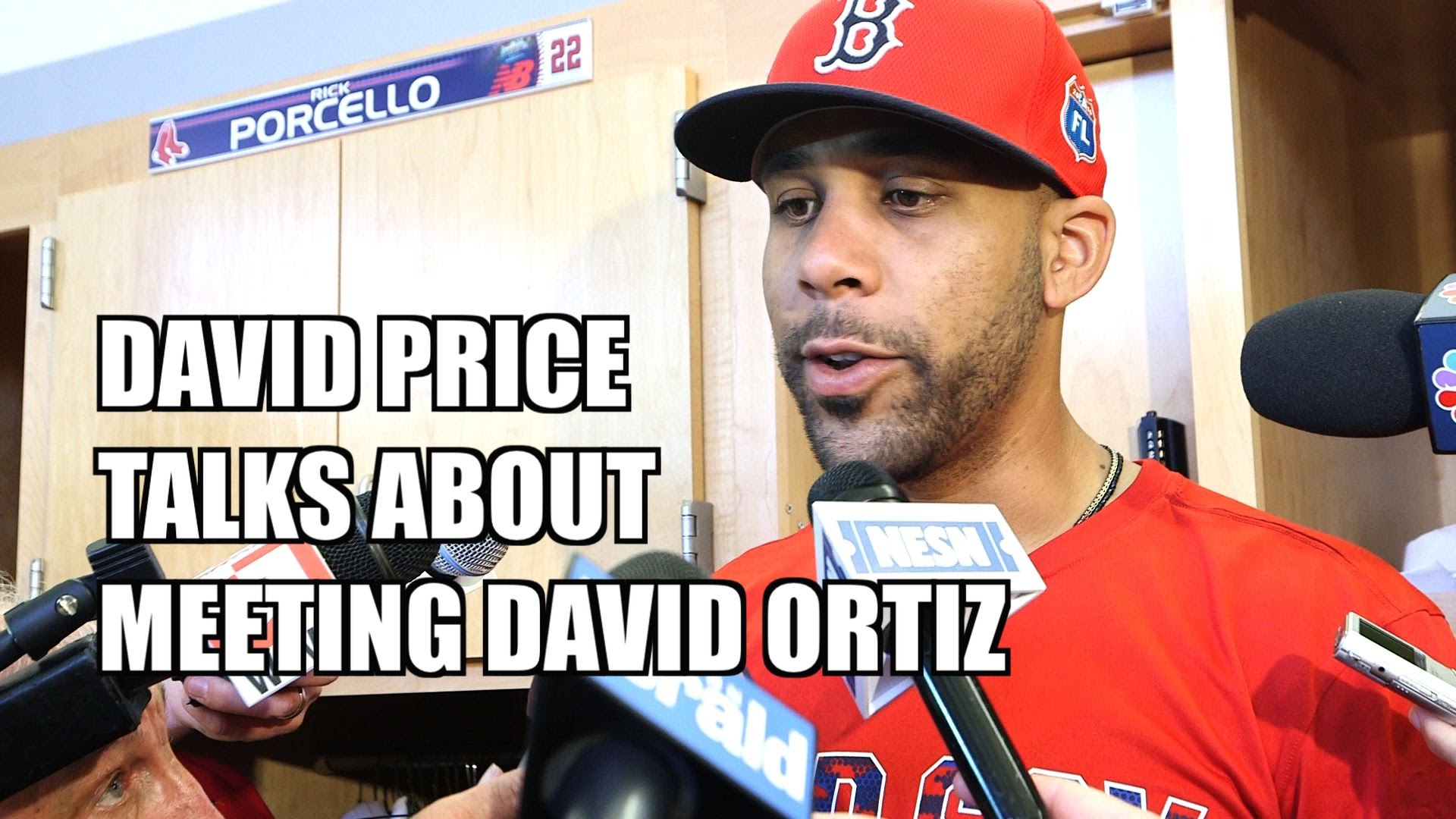 David Price speaks on meeting David Ortiz after well documented beef