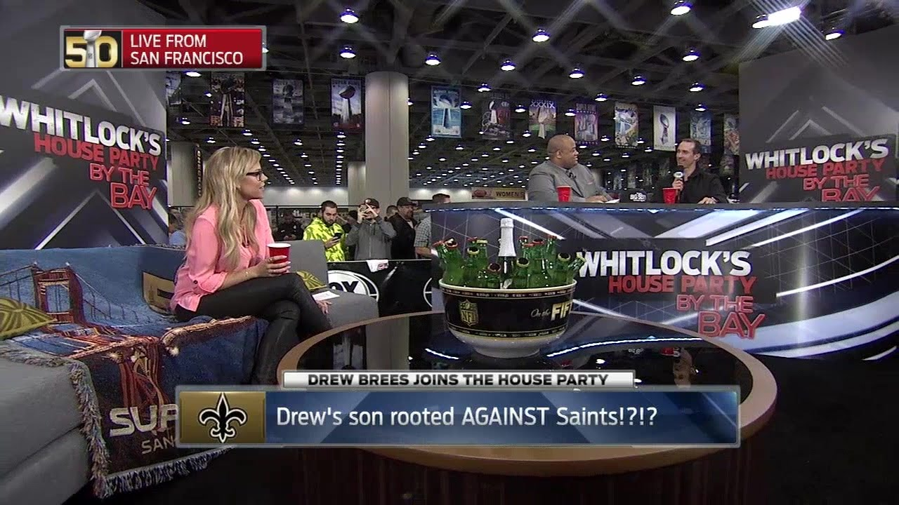 Drew Brees' own son rooted for the Giants over the Saints