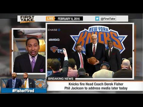ESPN First Take break down the firing of Derek Fisher