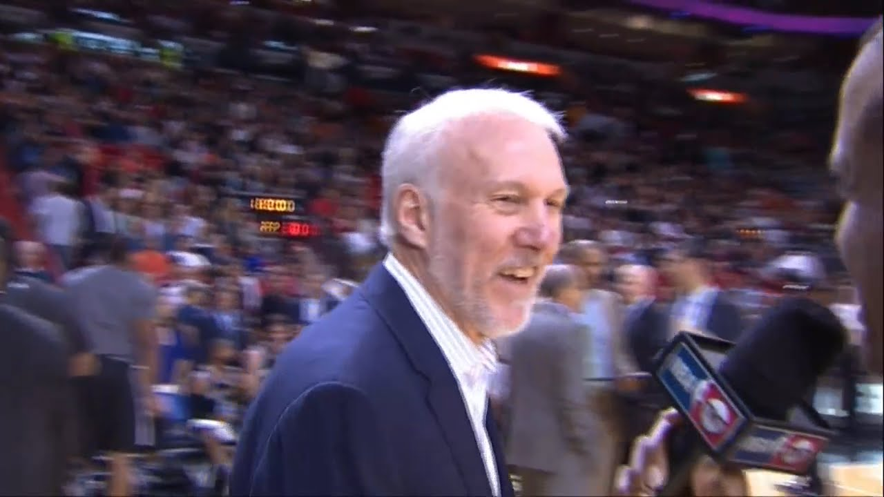 Gregg Popovich shakes his head at election results