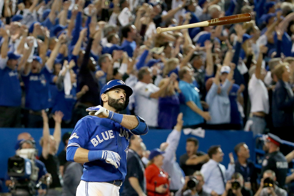 Jose Bautista hasn't paid for a meal in Toronto since bat flip