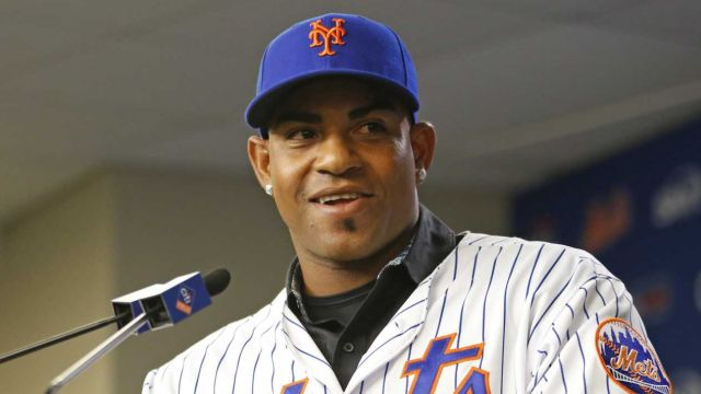Yoenis Cespedes talks about his return to the Mets