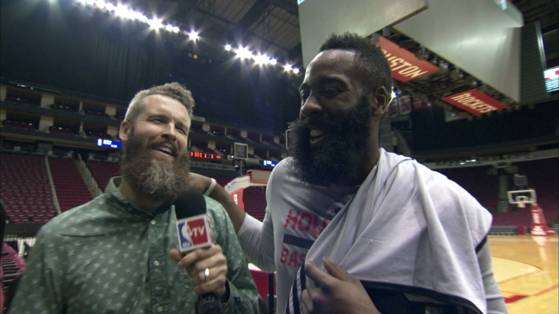 James Harden talks the history of his beard