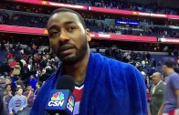 """John Wall: """"fans were more excited for free chicken sandwich than a win"""""""