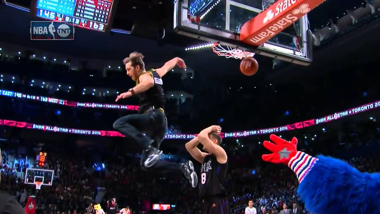 Jordan Kilganon interrupts All-Star game for incredible slam