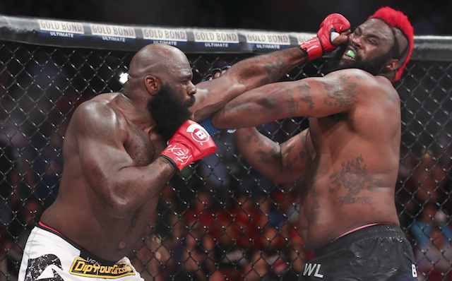Kimbo Slice with the greatest knockout of all time