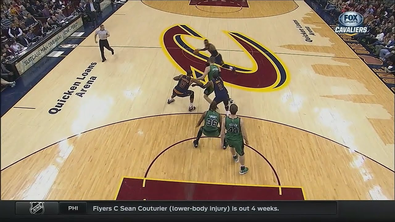 Kyrie Irving & Tristan Thompson with