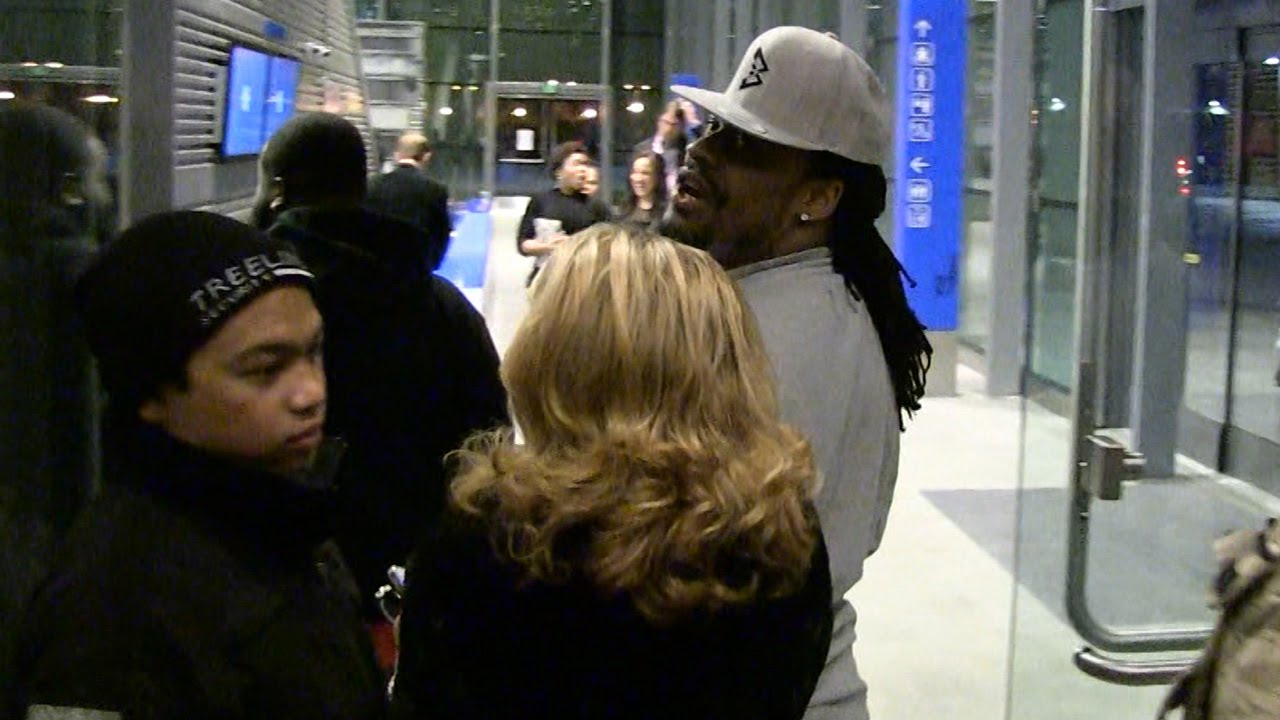 Marshawn Lynch with a hilarious response to if he is returning next year