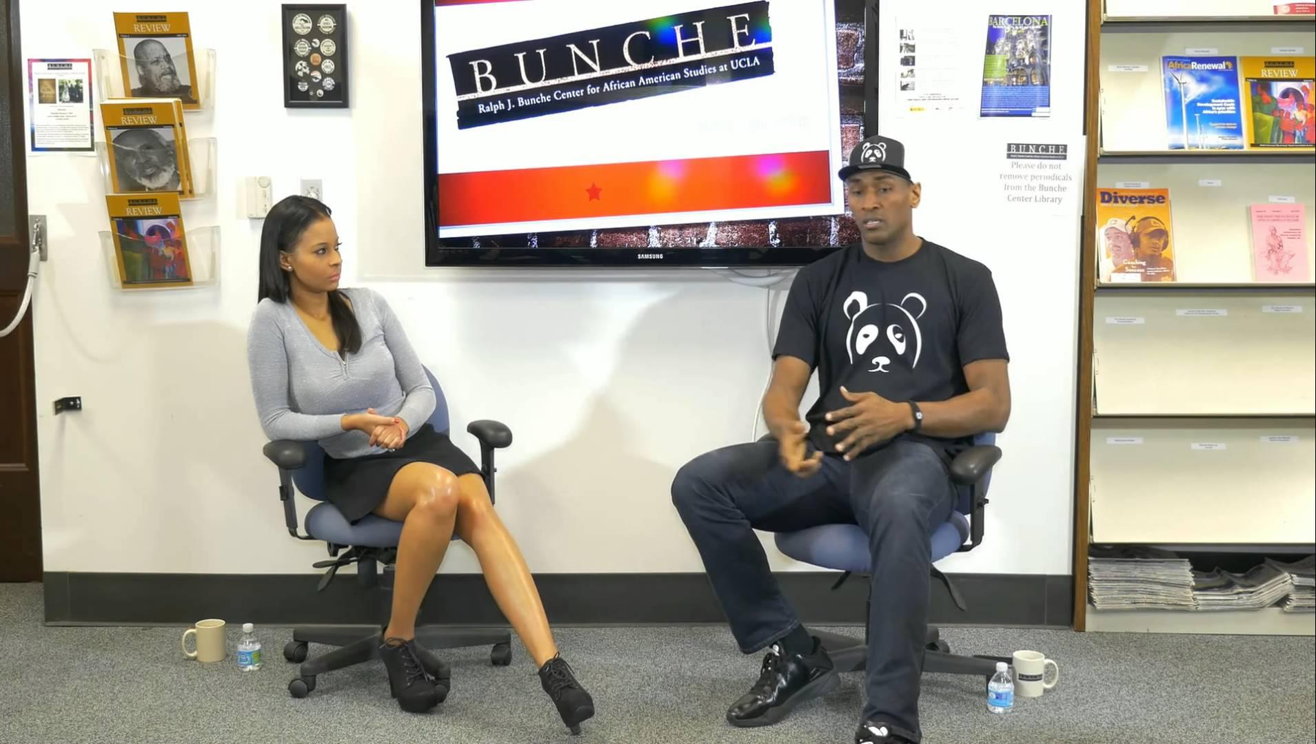 Metta World Peace speaks on cops killing black people vs black on black crime