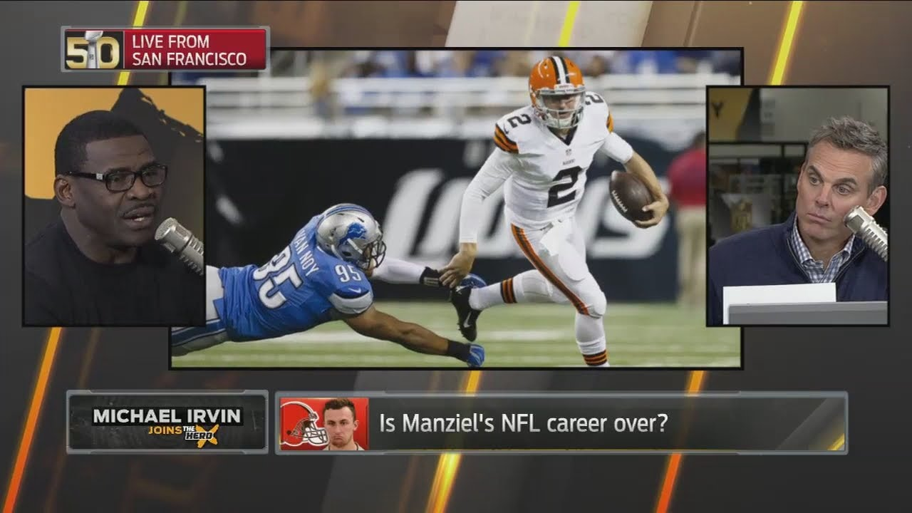 Michael Irvin 'absolutely' wants Johnny Manziel in Dallas