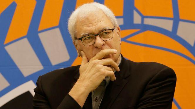 Phil Jackson & Kurt Rambis discuss the Knicks changes