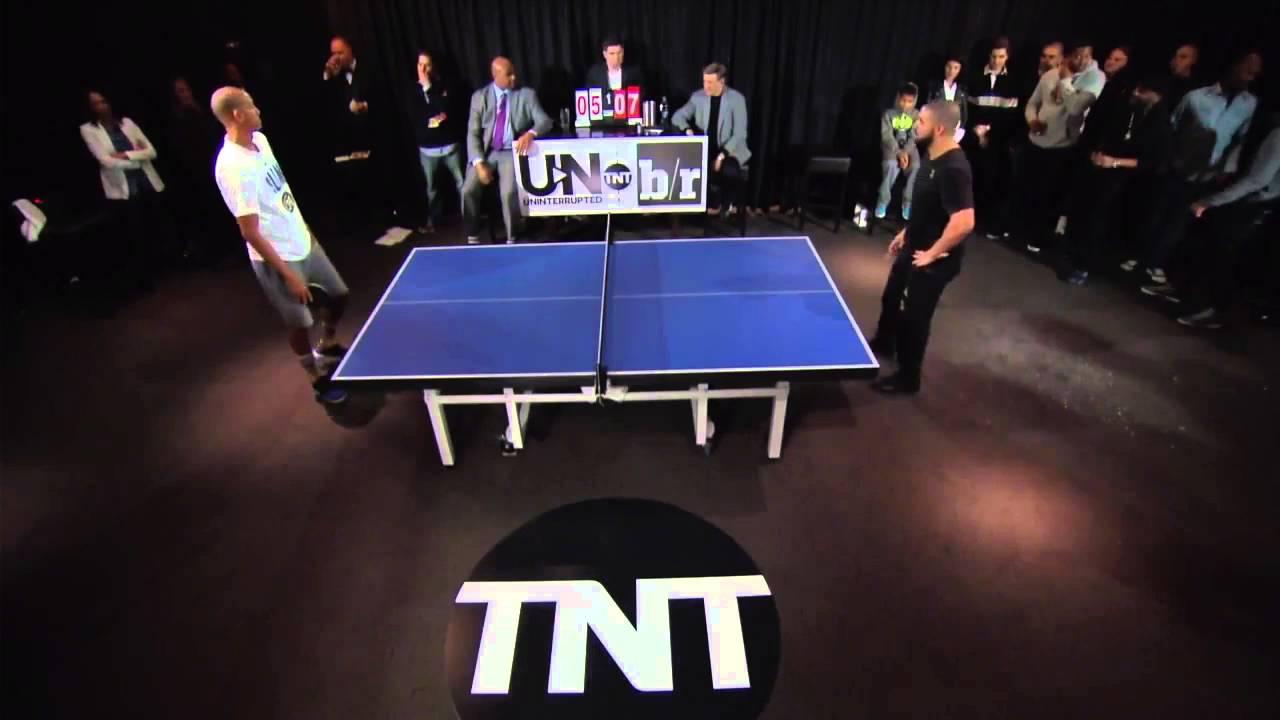 Preview of Drake vs. Reggie Miller in ping pong