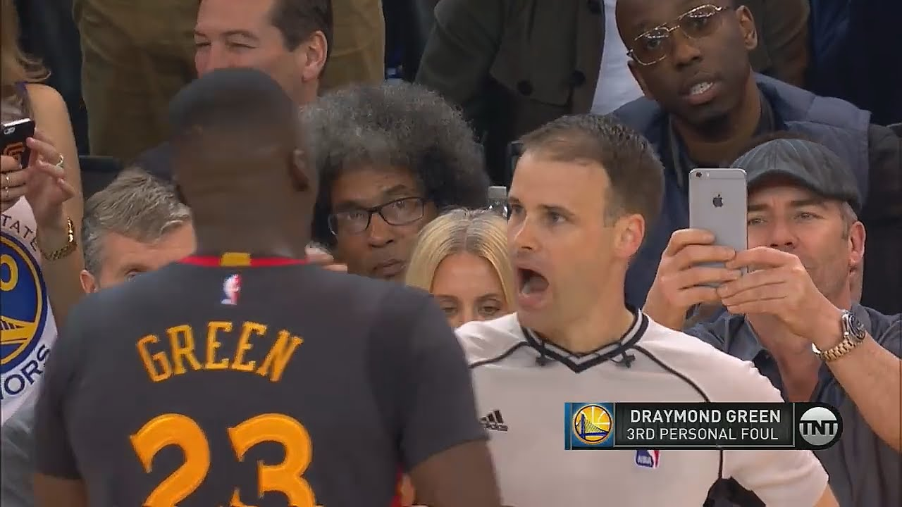 Referee admits he was wrong to Draymond Green