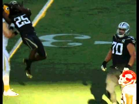 Richard Sherman attempted to RKO Clay Matthews during the Pro Bowl