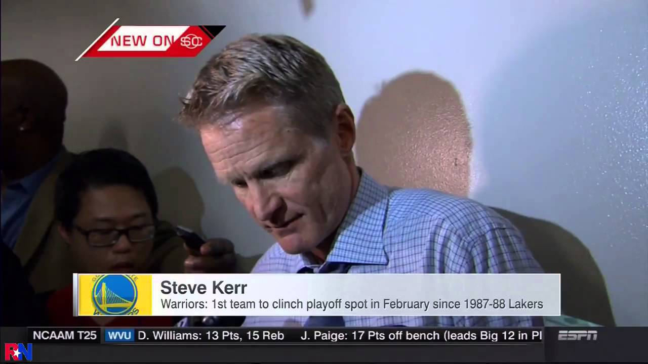 Steve Kerr fires back jabs at people criticizing Steph Curry