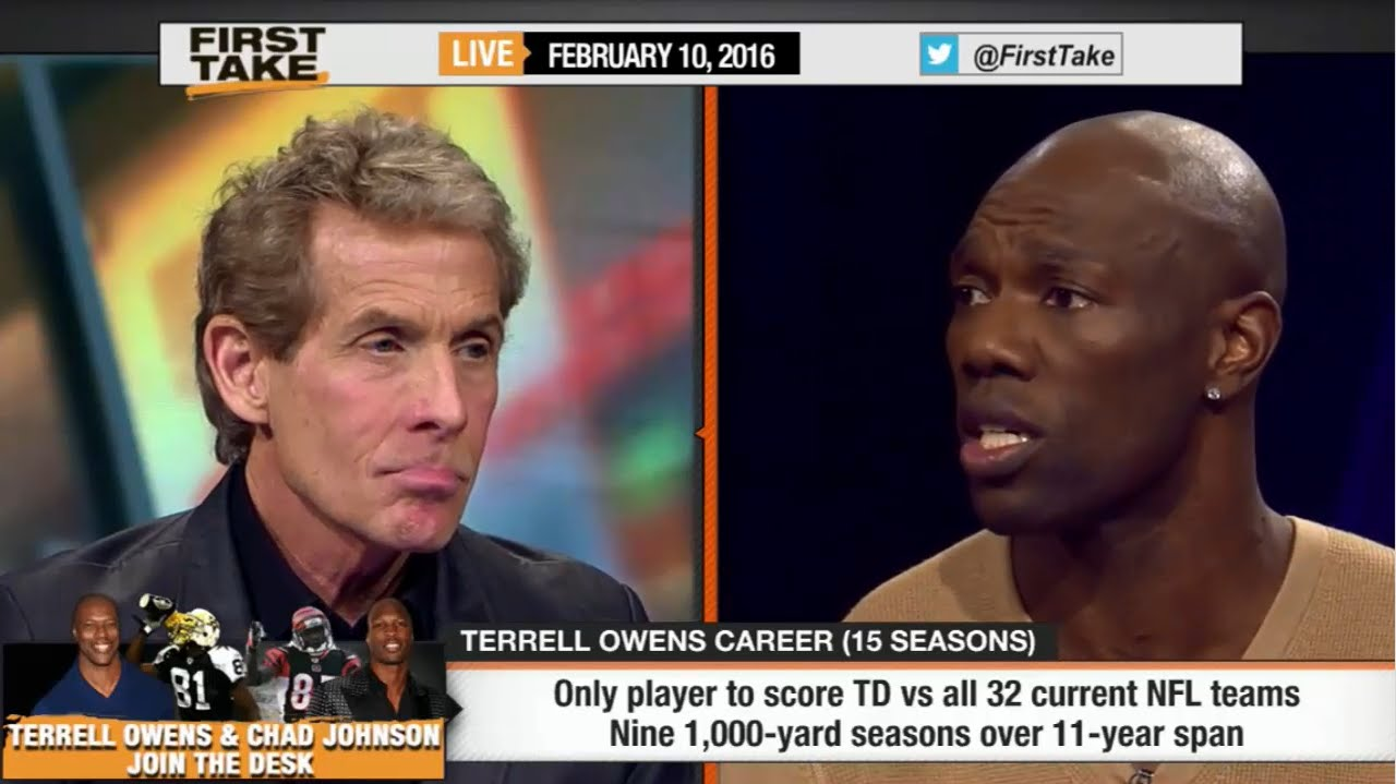 Terrell Owens & Skip Bayless sound off on each other on ESPN First Take