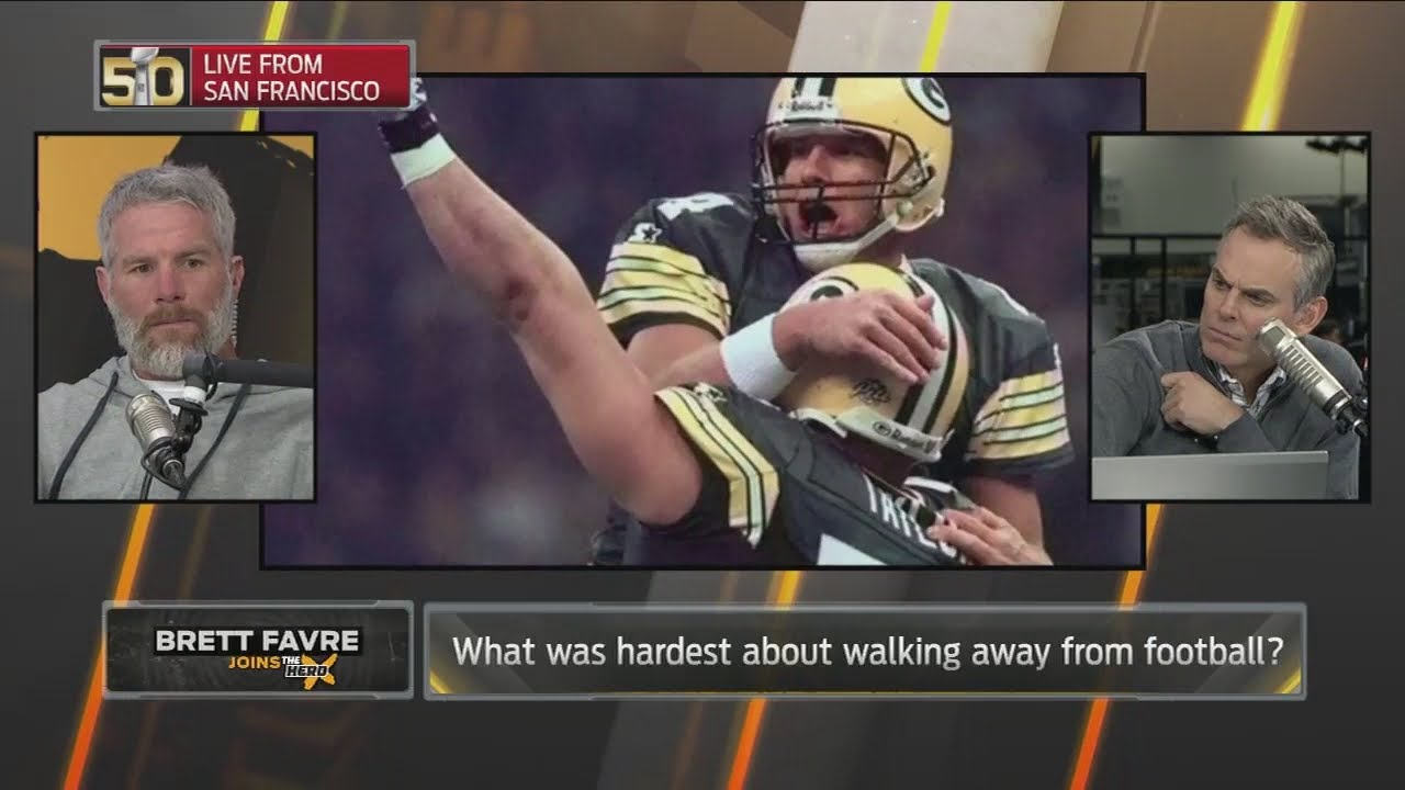 This is what Brett Favre misses the most about football