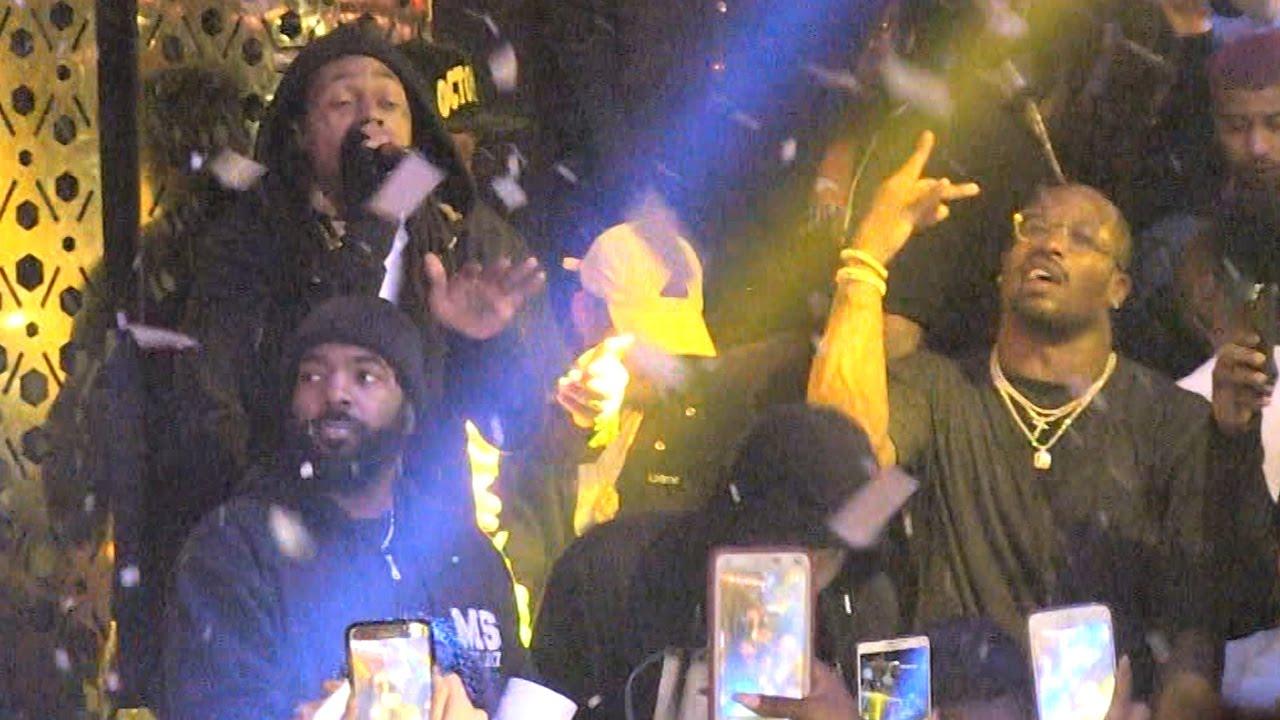 Von Miller parties with Lil' Wayne after winning Super Bowl MVP