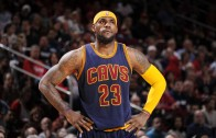 LeBron James with no comment about unfollowing the Cavaliers on Twitter