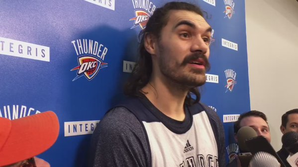 Steven Adams throws shots at Dwight Howard for stickum use
