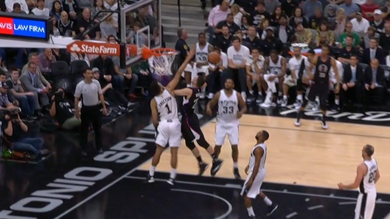 Austin Rivers failed dunk attempt vs. the Spurs
