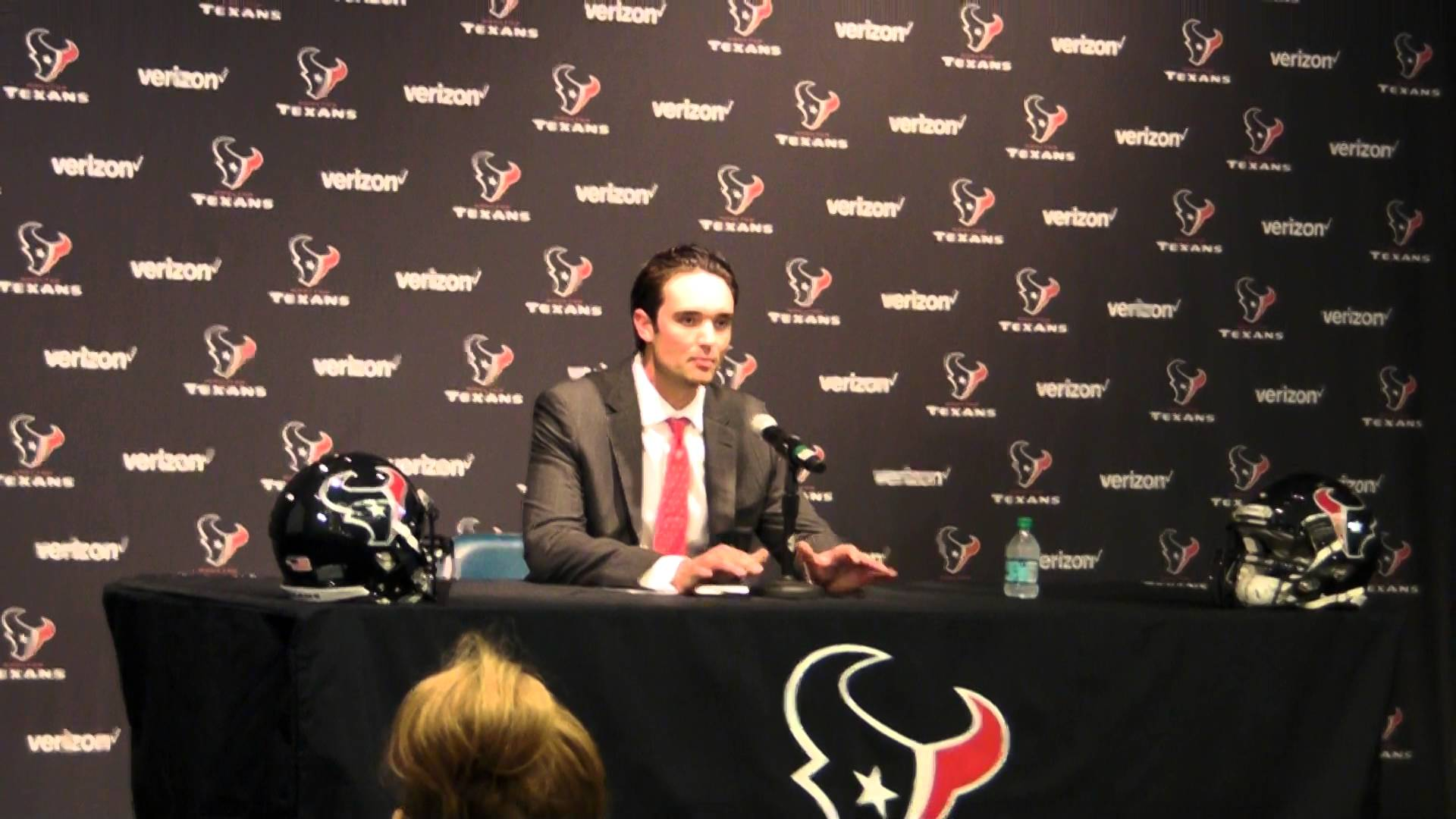 Brock Osweiler introduced by the Houston Texans
