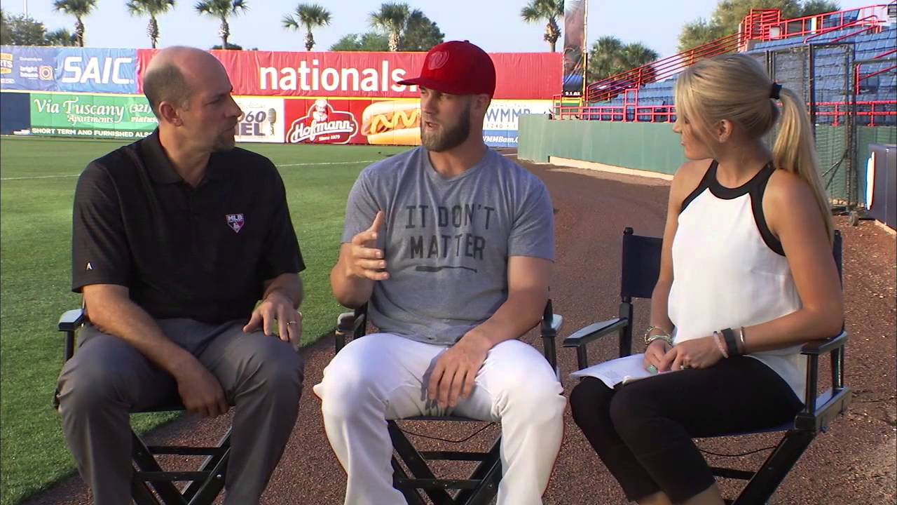 Bryce Harper speaks on what to expect from the 2016 Washington Nationals