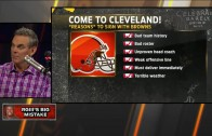 Colin Cowherd on why RG3 should have signed with the LA Rams