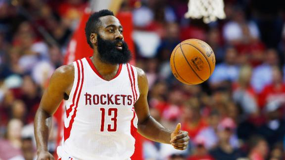 James Harden forgets to play defense on the Clippers