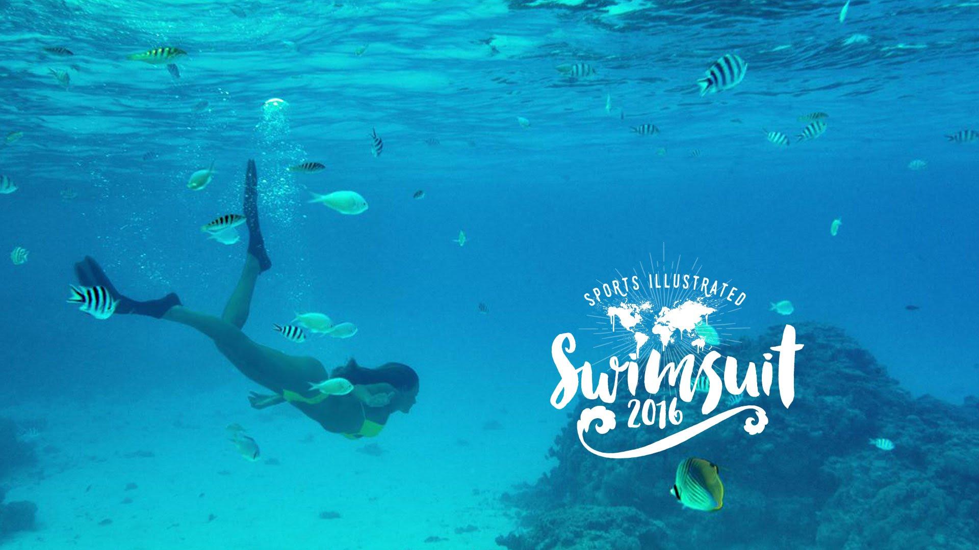 Dime View: Hannah Davis's SI Swimsuit 2016 shoot in Bora Bora