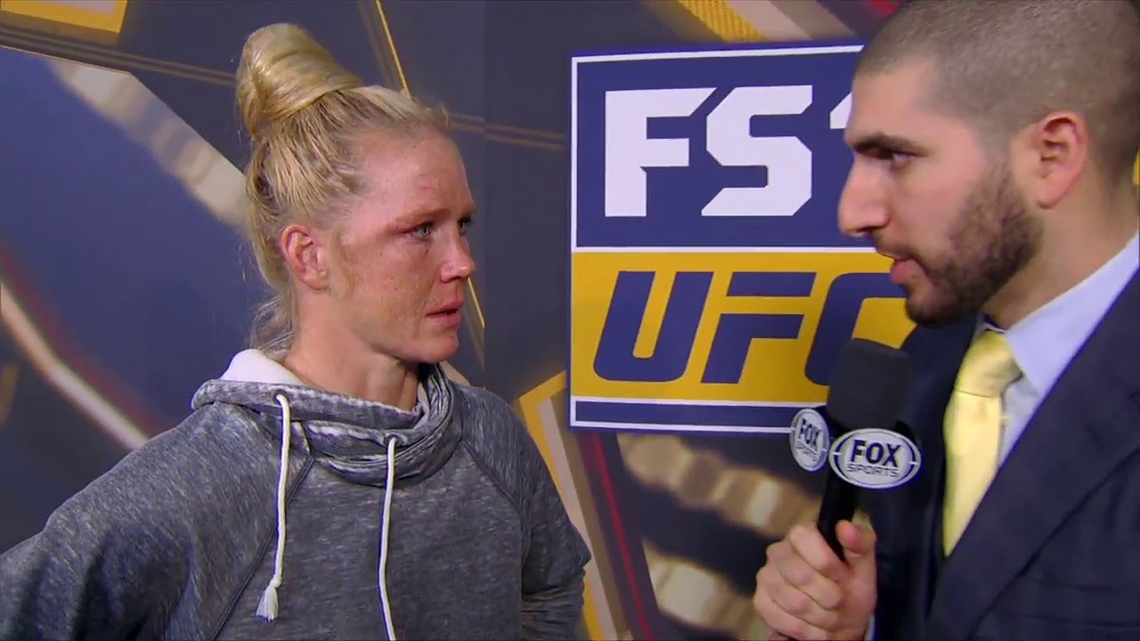 Holly Holm says