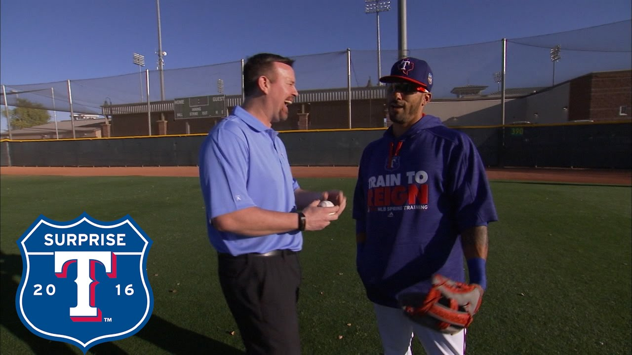 Ian Desmond discusses his transition to playing outfield